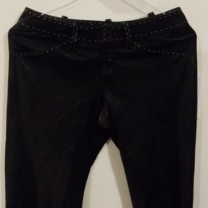 CHRISTIAN AUDIGIER SUEDE pants size S